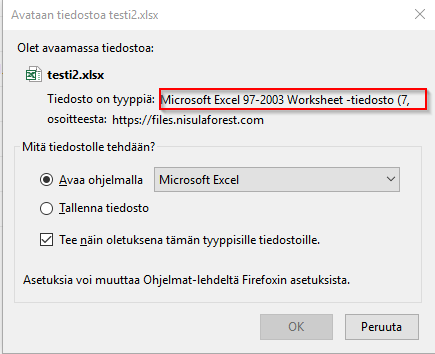 CE 6 1 1 create Excel file and download you get file xlsx xls file